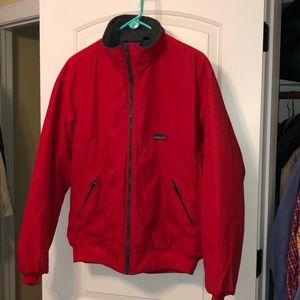 PATAGONIA Synchilla zip up coat EUC